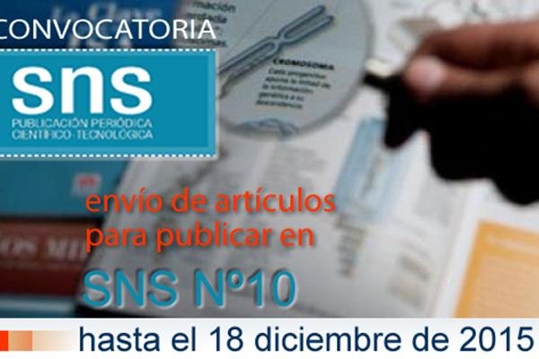 El Senasa publicó su revista digital número 9 de SNS y convocó a enviar trabajos para las próximas ediciones