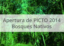 Apertura de PICTO 2014 Bosques Nativos